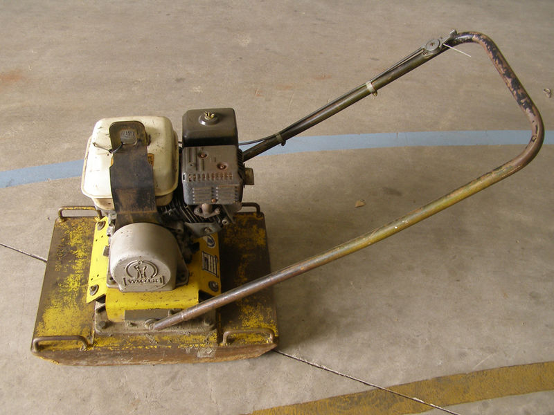 A pre-loved Wacker Packer