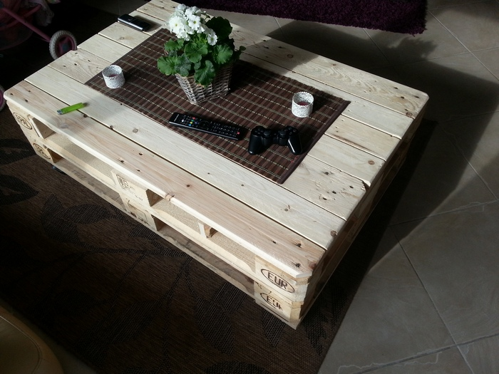 Make a lift top coffee table out of pallets your for How to build a coffee table out of pallets