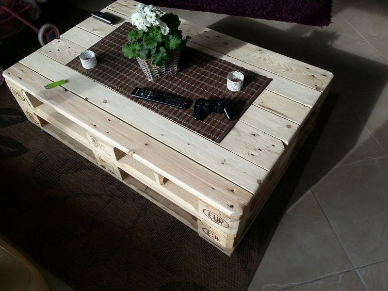 Make A Lift Top Coffee Table Out Of Pallets