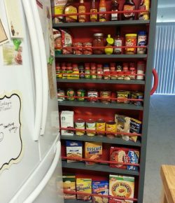 DIY Roll-Out Pantry Shelf Sample