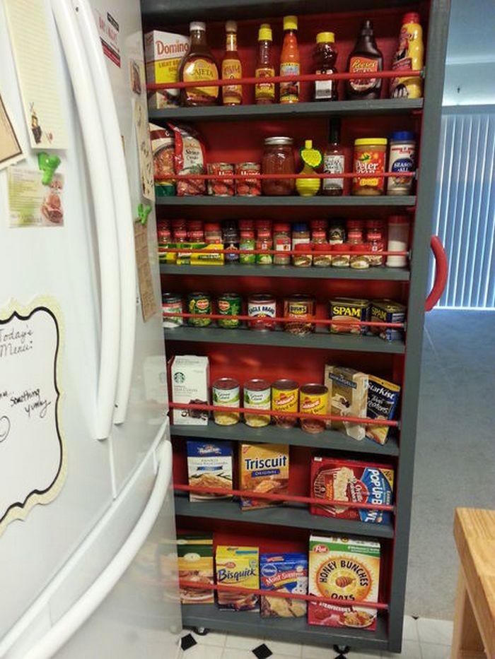 DIY Roll-Out Pantry Shelf Sample
