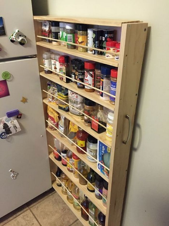 Kitchen Pantry Diy Projects: How To Build A Roll-Out Shelf