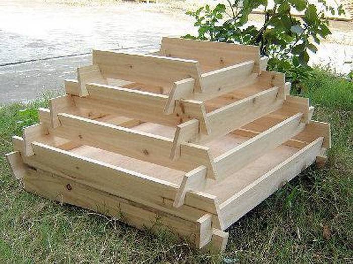 How To Make A Slot Together Pyramid Planter | Your Projects@OBN