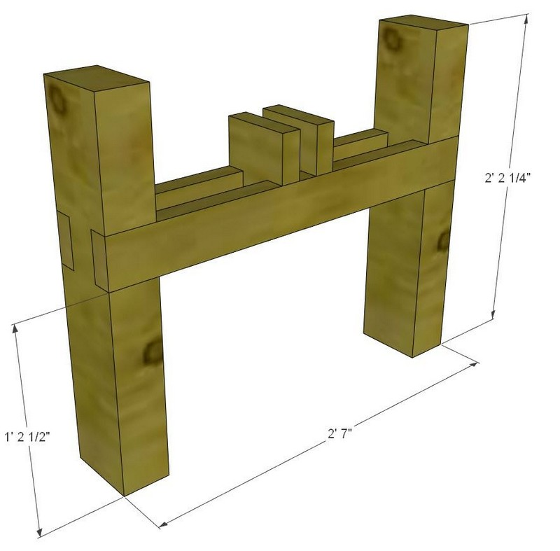 How To Make A Raised Planter Stand