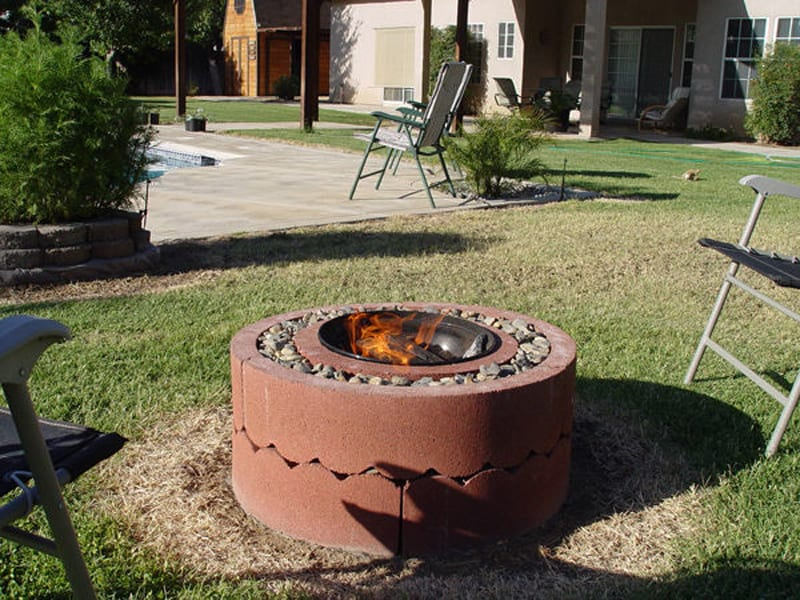 Fire pit your projects obn for Fire pit project