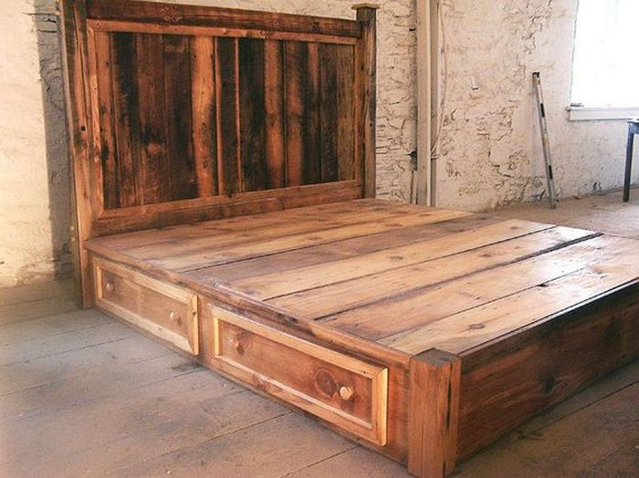 Do It Yourself Bed With Drawers Your Projects Obn