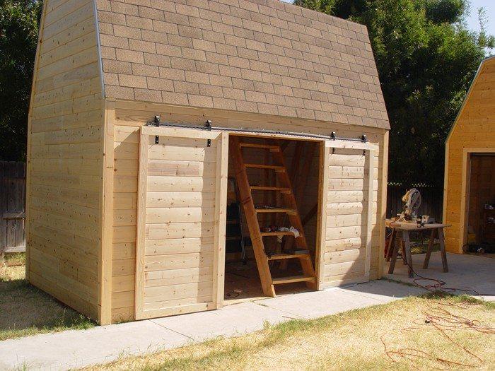 diy sliding barn doors from skateboard wheels your. Black Bedroom Furniture Sets. Home Design Ideas
