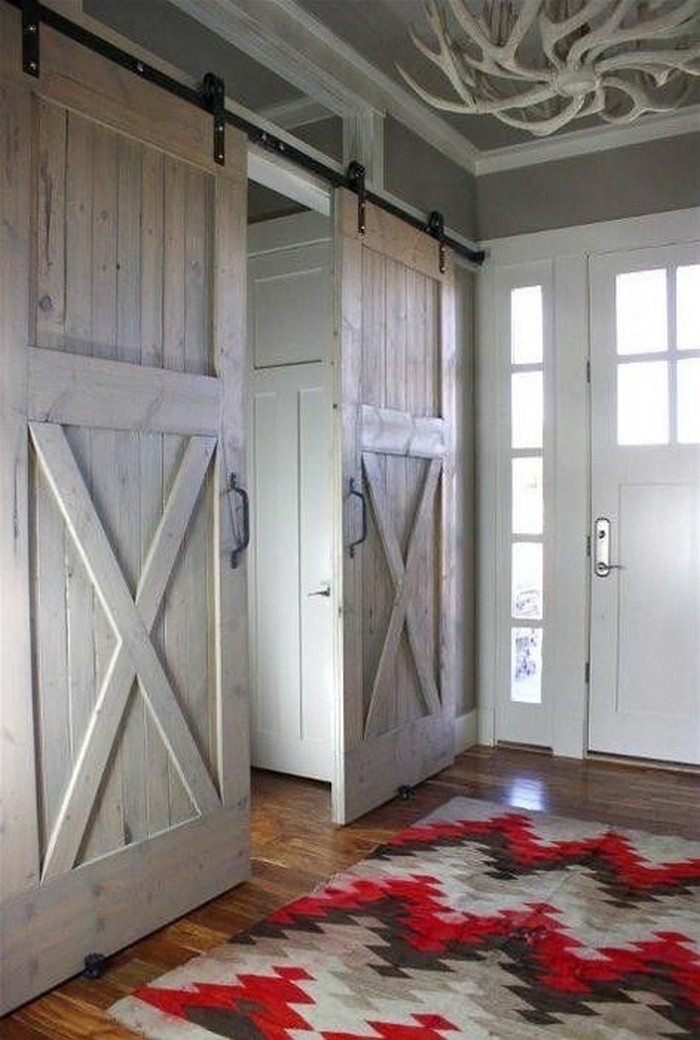 DIY Sliding Barn Doors From Skateboard Wheels - Your ...