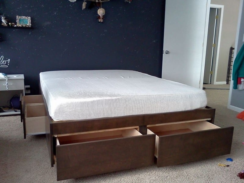 Do it yourself bed with drawers your projectsobn diybedwdrawers01 do you need more storage solutioingenieria