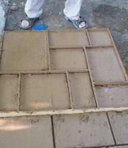 DIY Cement Patio