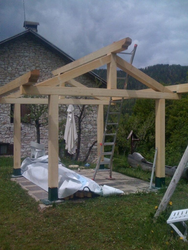 How to build a gazebo your projects obn for Average cost to build a pavilion