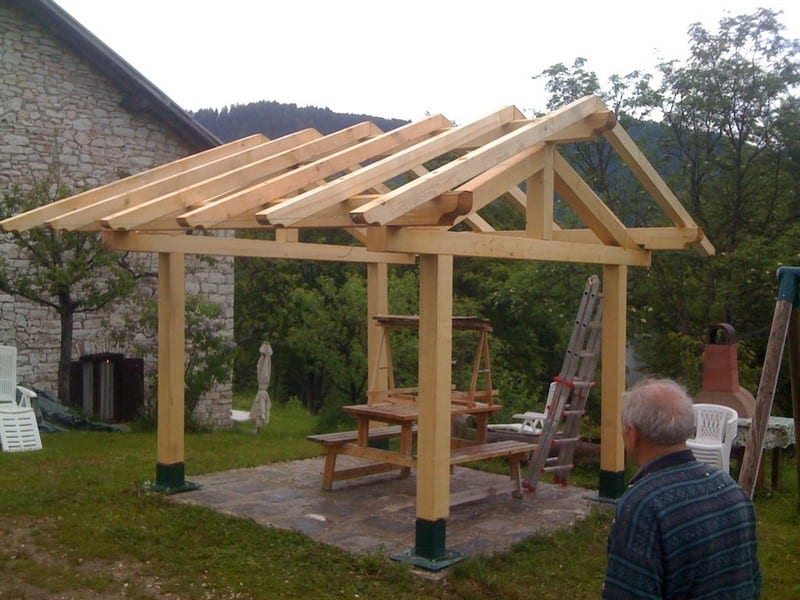 How to build a gazebo your projects obn for Gazebo cost to build