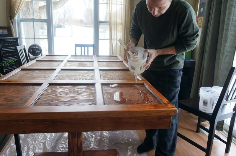 Garage Door Turned Into Table Your Projects Obn