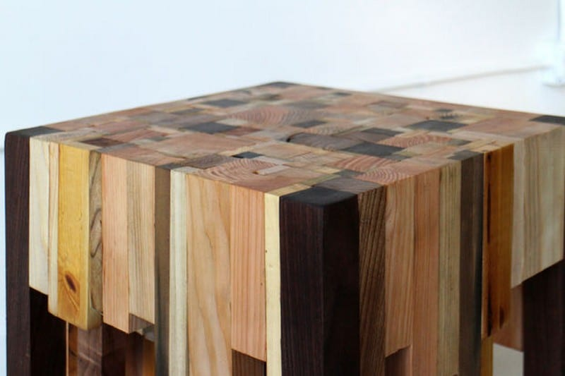 Wood Scrap End Table Your Projects Obn