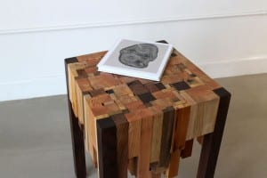 Wood Scrap End Table