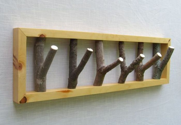DIY Branch Coat Rack Your ProjectsOBN Beauteous Tree Branch Coat Rack Diy