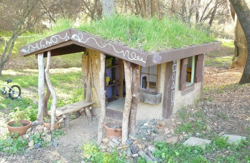 DIY Cob Playhouse