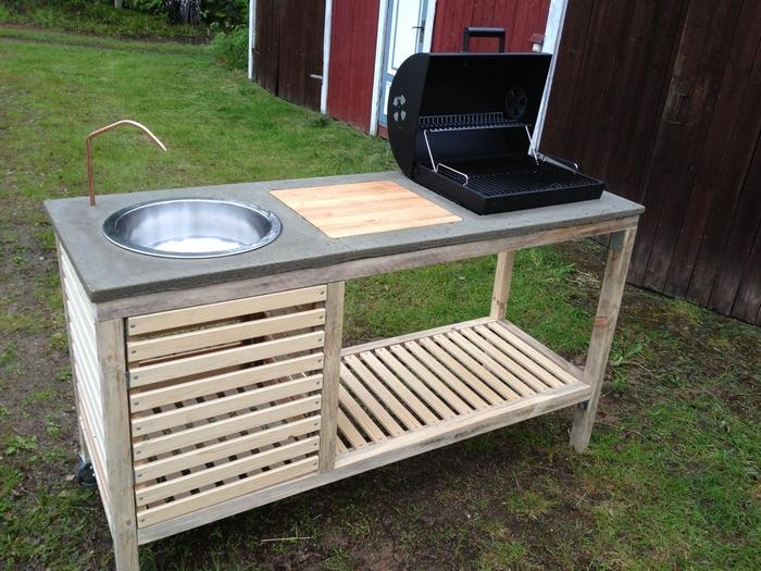 DIY Portable Barbeque
