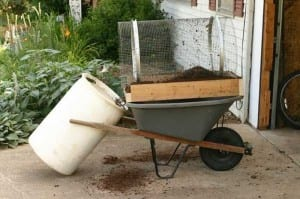 DIY Compost Sifter