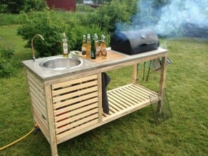 DIY Portable Barbeque
