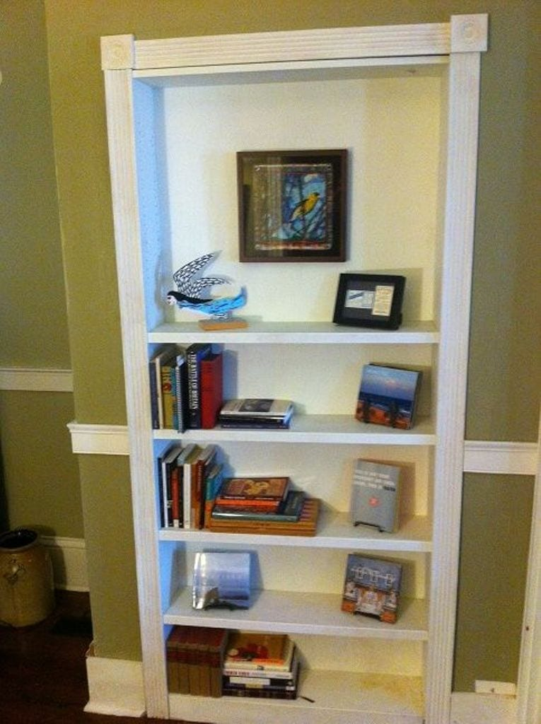 Turn a bookcase into a secret door