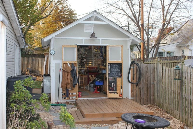 How To Build A Tiny Workshop