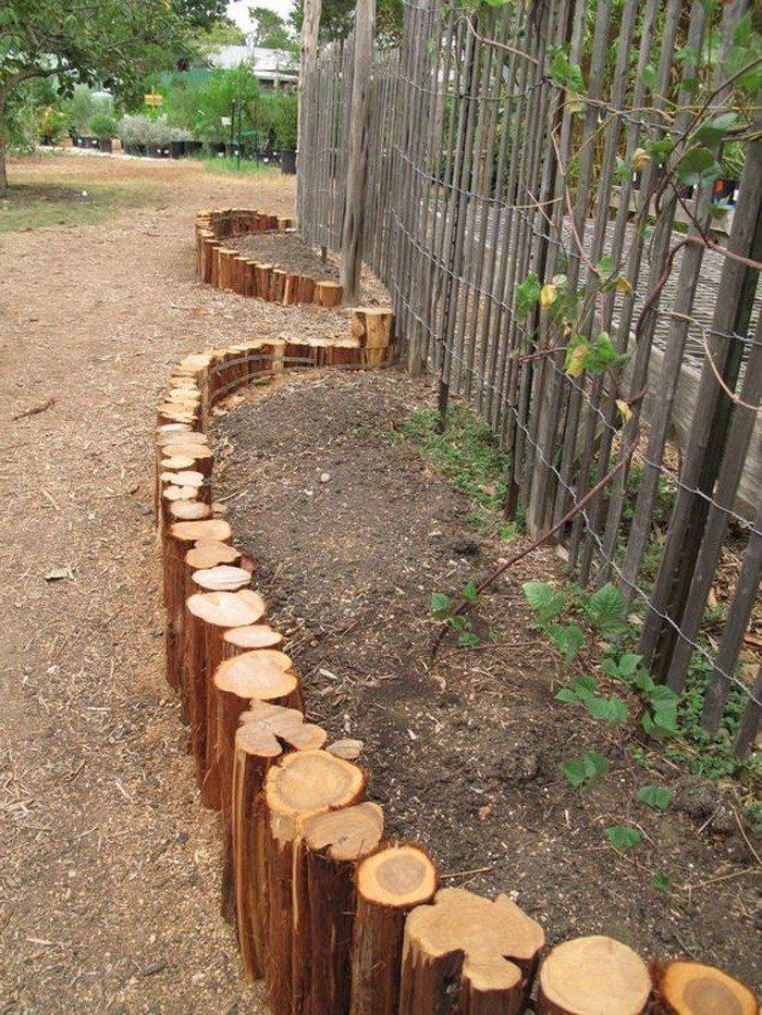 diy natural wood raised garden your projects obn. Black Bedroom Furniture Sets. Home Design Ideas