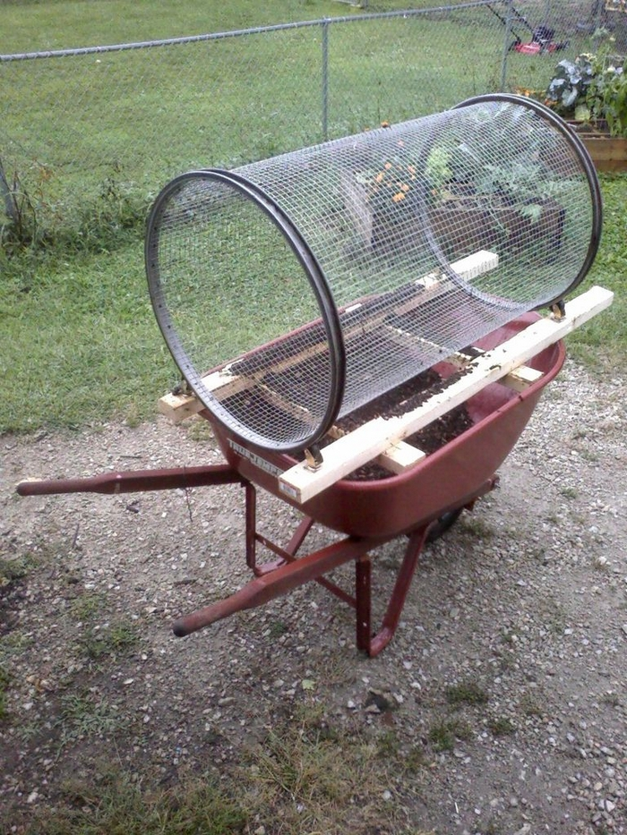 DIY Compost Sifter | Your Projects@OBN
