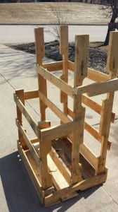 P.A.L.L.E.T. (Pallet and Loose Lumber Enclosure Tower)