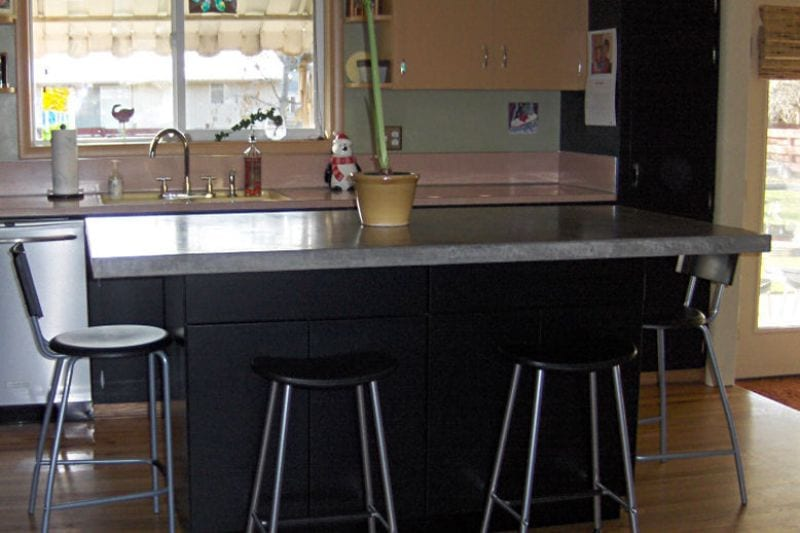 How To Build A Basic Concrete Countertop Page 1