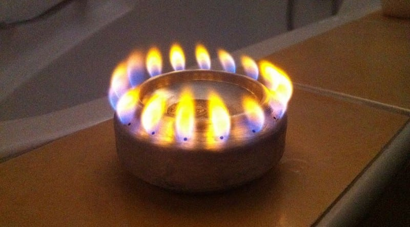DIY Pop Can Alcohol Stove