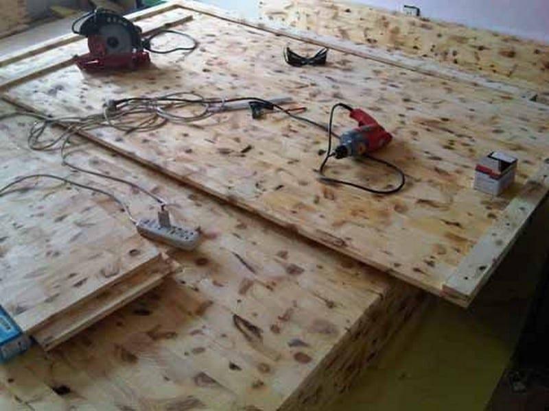 DIY Lift Top Storage Bed03