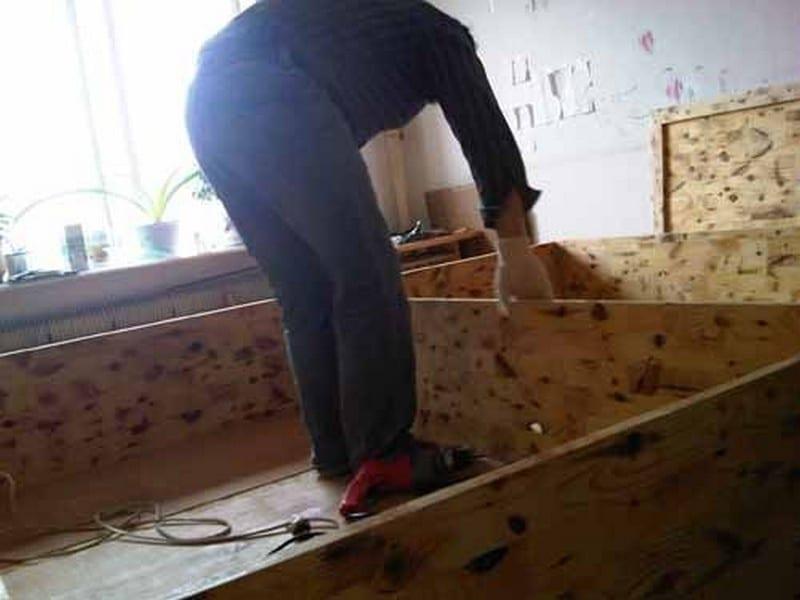 DIY Lift Top Storage Bed06