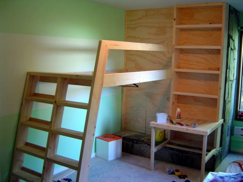 Diy Loft Bed Your Projects Obn