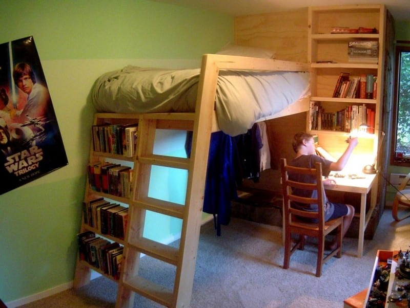 DIY Loft Bed | Your Projects@OBN
