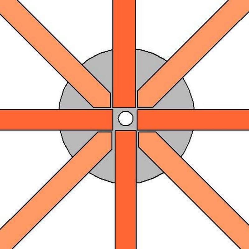 DIY Octagonal Deck 08