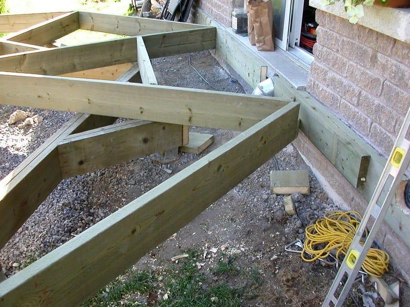 DIY Octagonal Deck 11