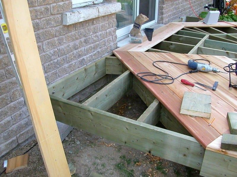 DIY Octagonal Deck 17