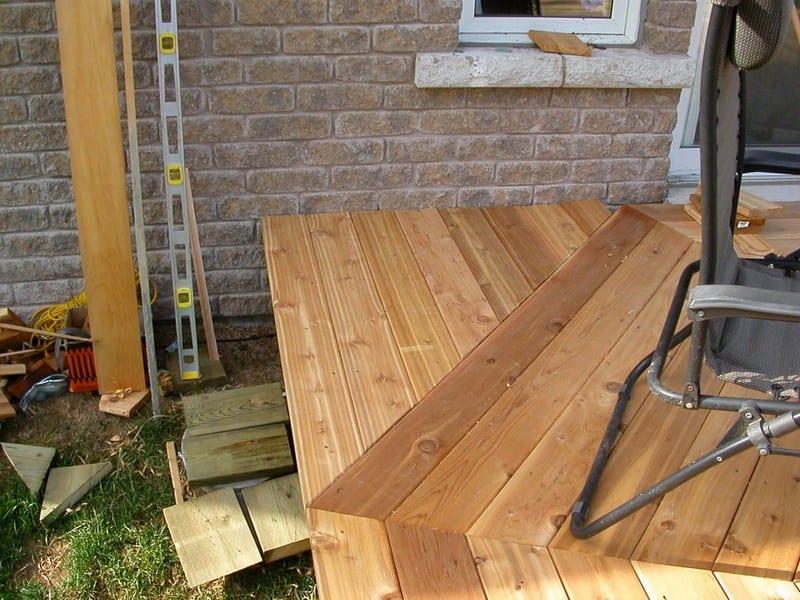 DIY Octagonal Deck 18