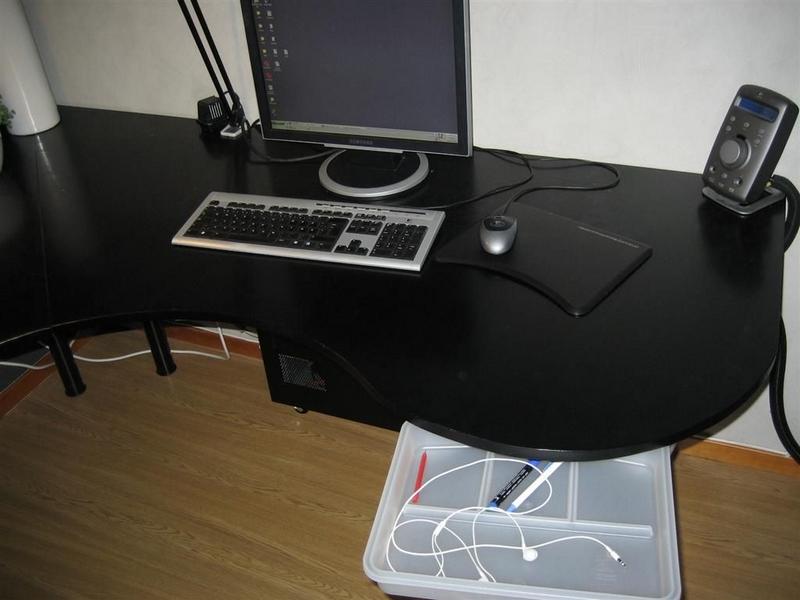 DIY WrapAround Desk