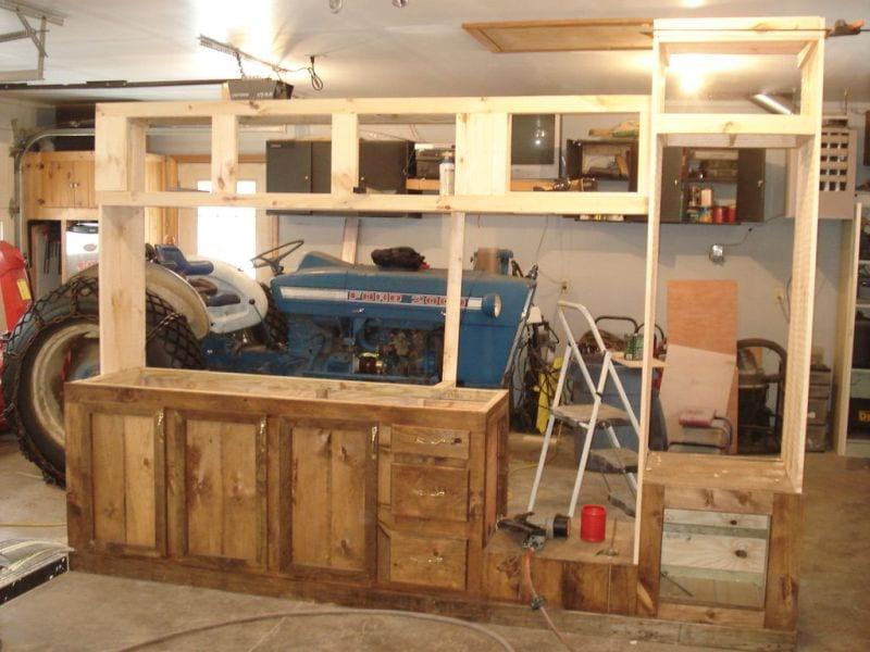 DIY Deck Kitchen