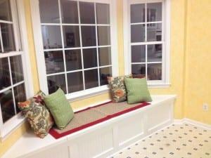 DIY Window Seat with Storage