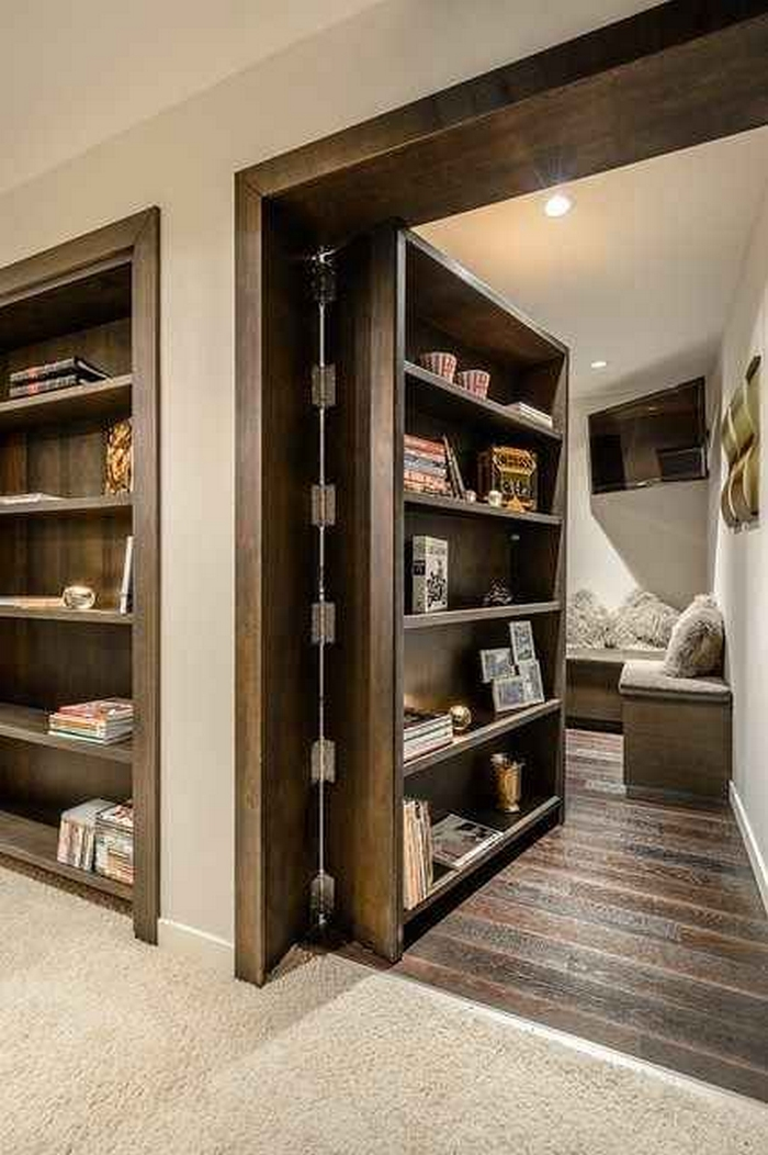 Hidden Bookcase Door & DIY Hidden Bookcase Door | Your Projects@OBN