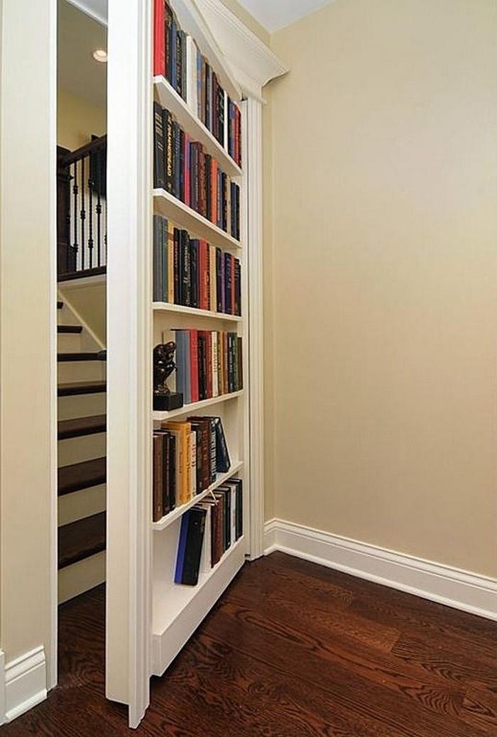 Hidden Door Design Google 搜尋: DIY Hidden Bookcase Door