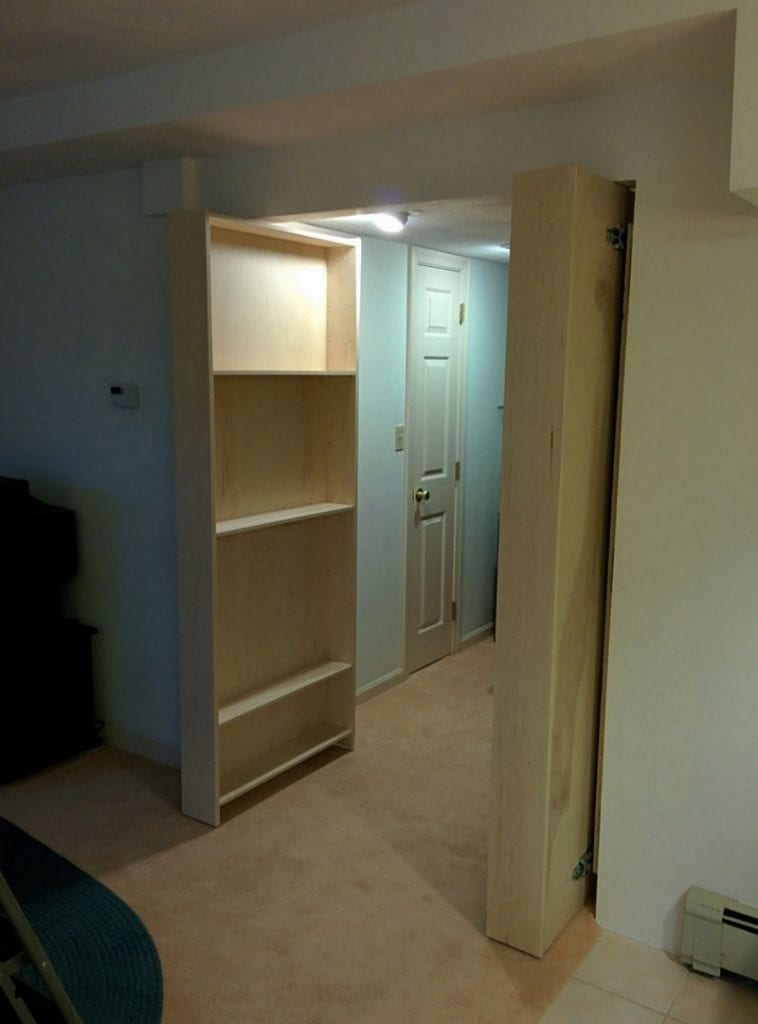 Diy Hidden Bookcase Door Your Projects Obn