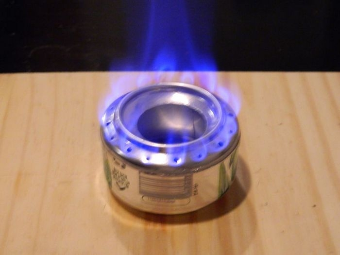 Diy pop can alcohol stove your projects obn for Diy cooking stove