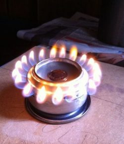 Pop Can Alcohol Stove