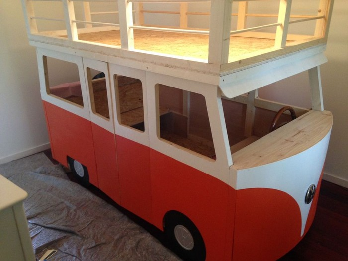 DIY VW Micro-Bus Bunk Bed and Playhouse – Your Projects@OBN