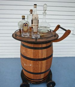 Wine Barrel Bar Ideas