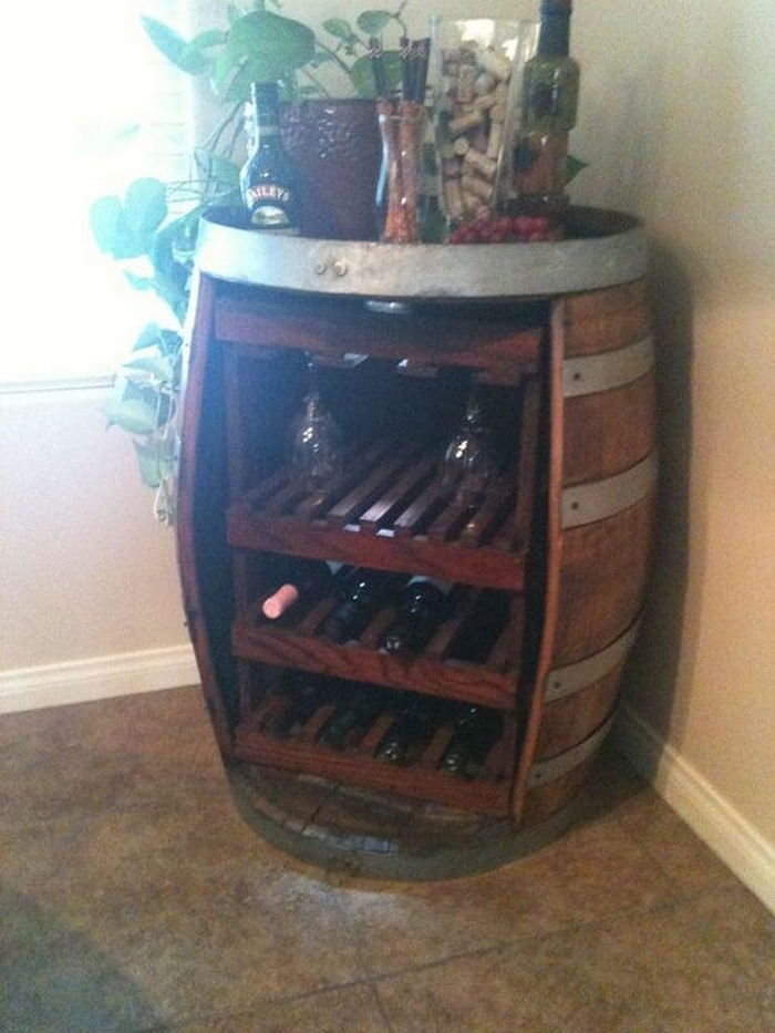 Diy Oak Barrel Bar Your Projects Obn